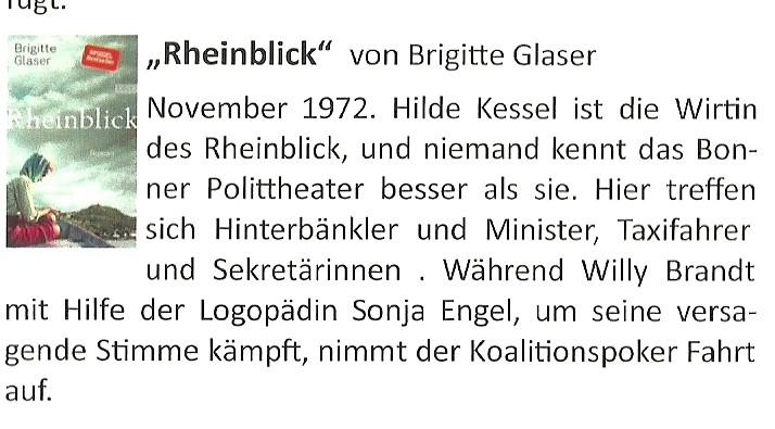 Buchvorschlag Rheinblick
